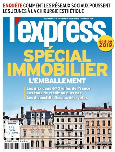 L'Express - Août 2019 - Spécial Immobilier
