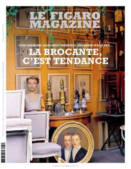 Figaro Magazine - La Brocante, c'est tendance