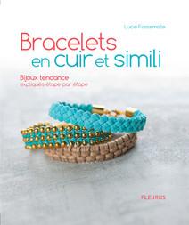 Bracelets en cuir et simili : Bijoux tendance expliqués étape par étape | Fossemalle, Lucie
