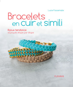 Bracelets en cuir et simili : Bijoux tendance expliqués étape par étape | Lucie Fossemalle