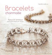Bracelets chainmaille : Bijoux en anneaux expliqués étape par étape | Lebrun, Sandra