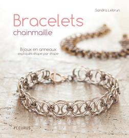 Bracelets chainmaille : Bijoux en anneaux expliqués étape par étape | Sandra Lebrun