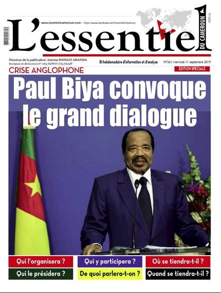 L'essentiel du Cameroun numéro 261