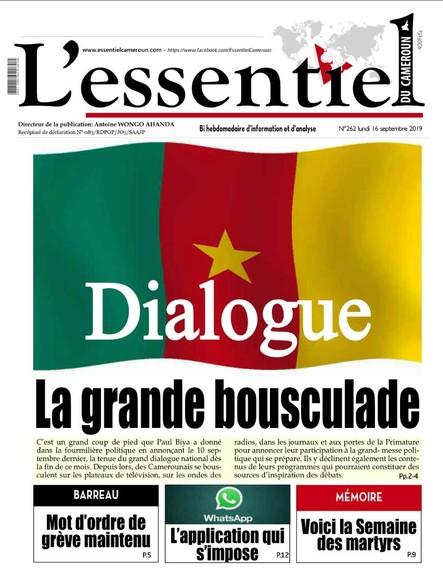 L'essentiel du Cameroun numéro 262