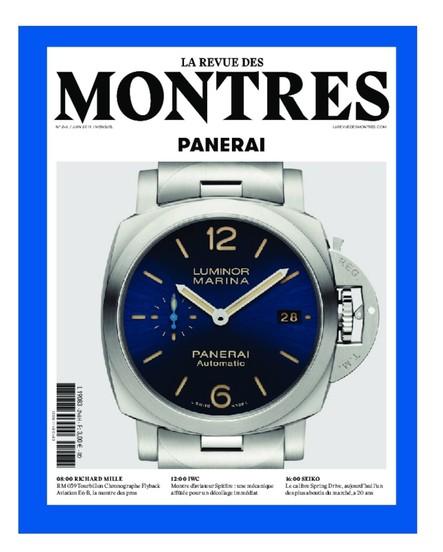 Revue des montres N°246 - Juin 2019