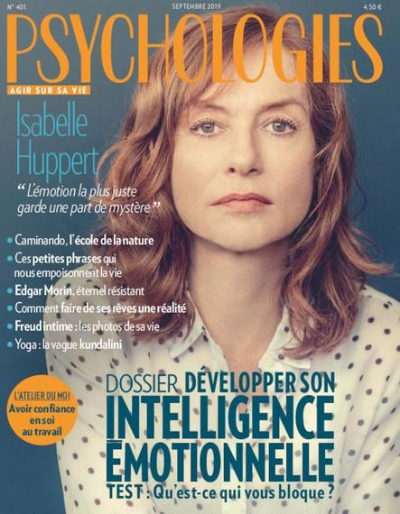 Psychologies Magazine - Septembre 2019