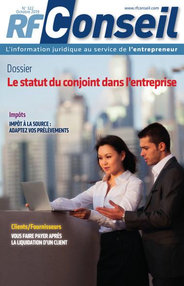 RF Conseil - Octobre 2019