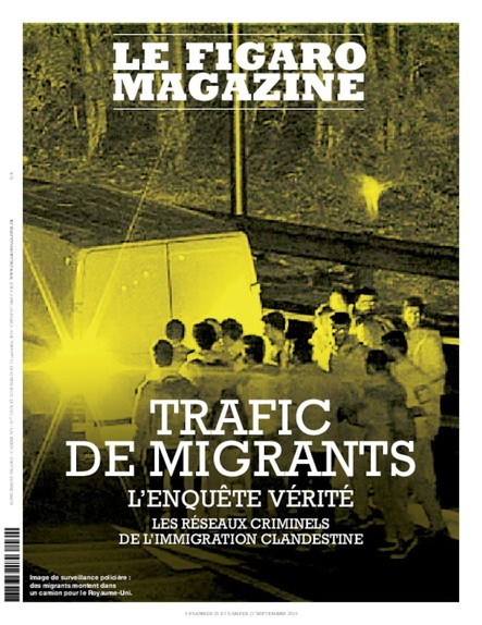 Figaro Magazine : Trafic des Agents
