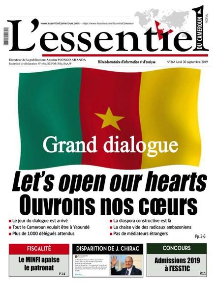L'essentiel du Cameroun numéro 264