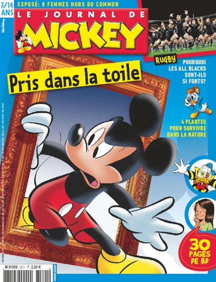 Le Journal De Mickey - 02 Octobre 2019