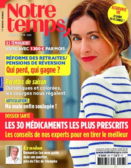 Notre Temps - Octobre 2019