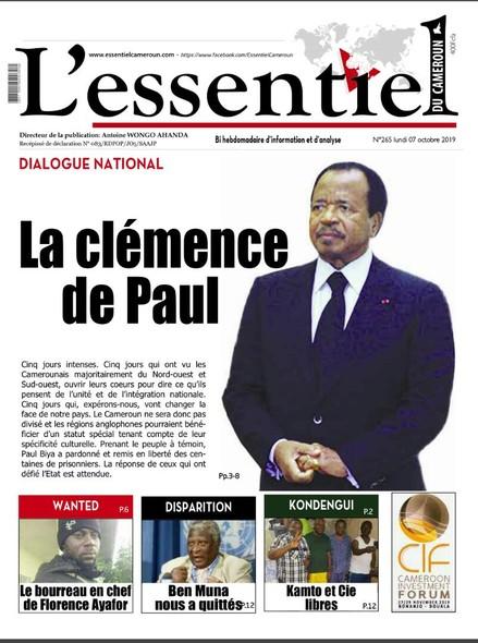 L'essentiel du Cameroun numéro 265