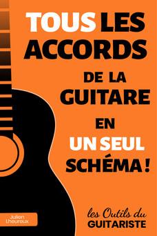 TOUS les accords de la guitare en UN SEUL schéma ! | Julien Lheureux