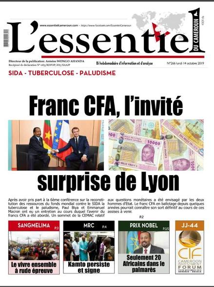 L'essentiel du Cameroun numéro 266