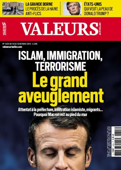 Valeurs Actuelles - Octobre 2019 - Le grand aveuglement