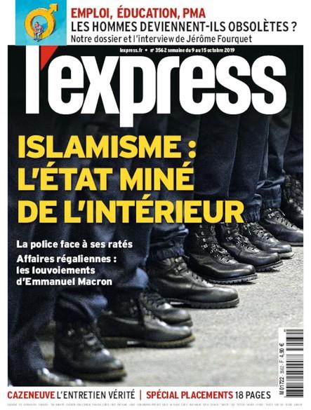 L'Express - Octobre 2019 - Islamisme : l'état miné de l'intérieur