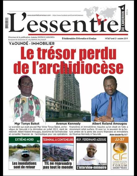 L'essentiel du Cameroun numéro 267