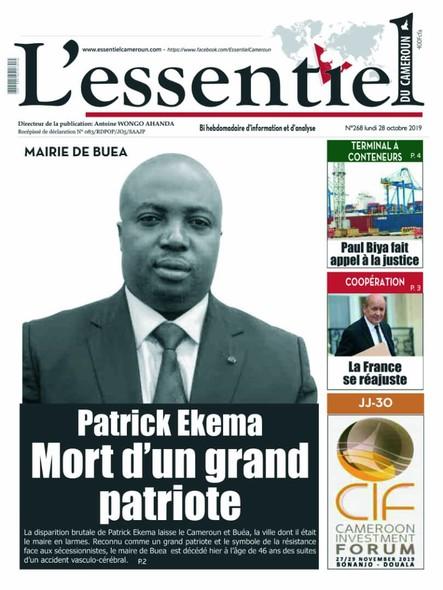 L'essentiel du Cameroun numéro 268