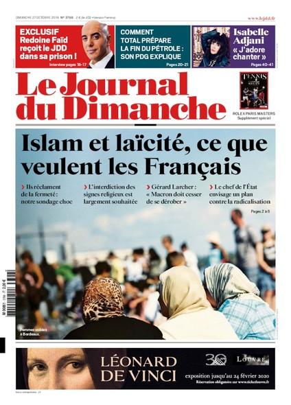 Journal du Dimanche - 27 Octobre 2019