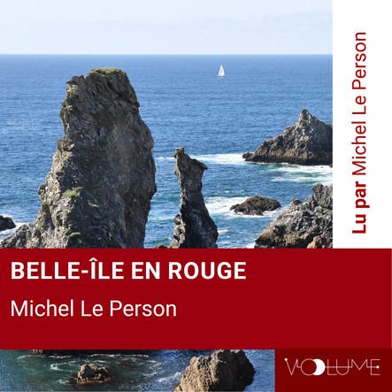 Belle-Île en rouge
