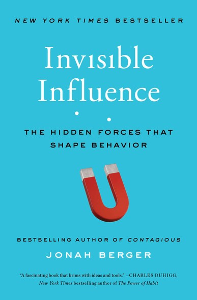 Invisible Influence : The Hidden Forces that Shape Behavior