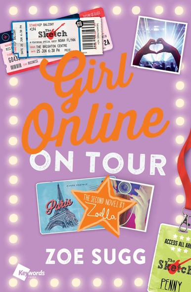 Girl Online: On Tour : The Second Novel by Zoella