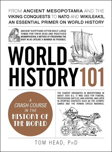 World History 101 : From ancient Mesopotamia and the Viking conquests to NATO and WikiLeaks, an essential primer on world history