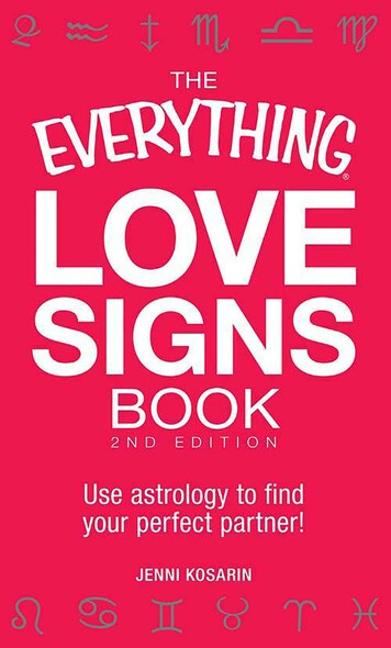 The Everything Love Signs Book : Use astrology to find your perfect partner!