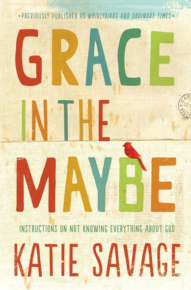 Grace in the Maybe : Instructions on Not Knowing Everything About God