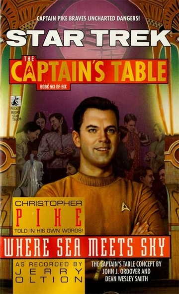 St:ct #6 Where Sea Meets Sky : Captain's Table Book 6