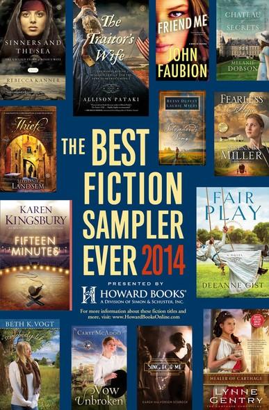 The Best Fiction Sampler Ever 2014 - Howard Books : A Free Sampling of Spring Fiction Titles