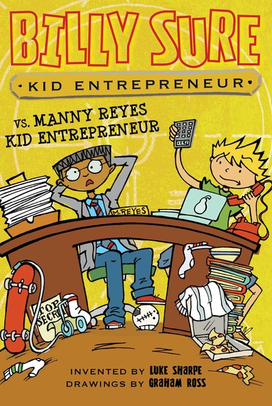 Billy Sure Kid Entrepreneur vs. Manny Reyes Kid Entrepreneur