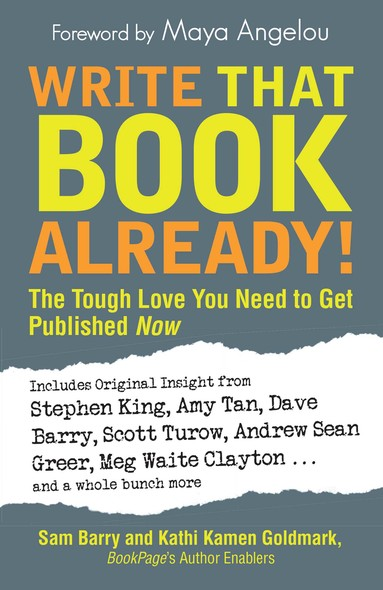 Write That Book Already! : The Tough Love You Need To Get Published Now