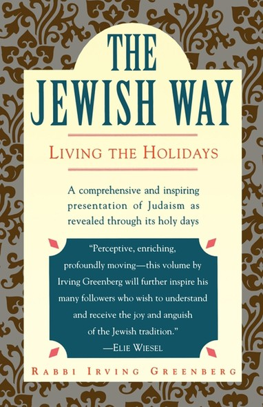The Jewish Way : Living the Holidays