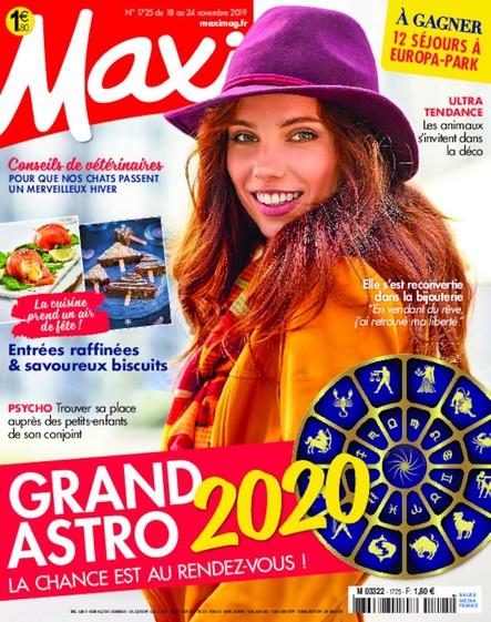 Maxi   Novembre 2019   N°1725