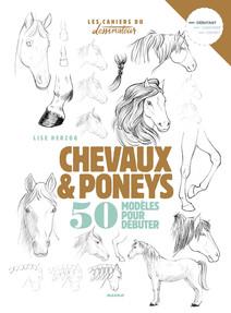 Chevaux & poneys : 50 modèles pour débuter | Herzog, Lise