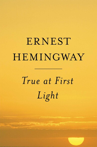 True at First Light : A Fictional Memoir