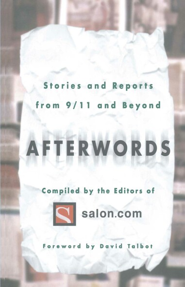 Afterwords : Stories and Reports from 9/11 and Beyond