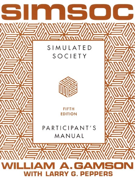 SIMSOC: Simulated Society, Participant's Manual : Fifth Edition (Participant's Manual)