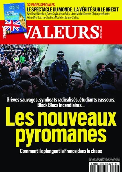 Valeurs Actuelles - Décembre 2019 - Les Nouveaux Pyromanes