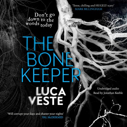 The Bone Keeper : An unputdownable thriller; you'll need to sleep with the lights on