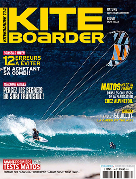 Kite Boarder - Décembre 2019/Janvier 2020