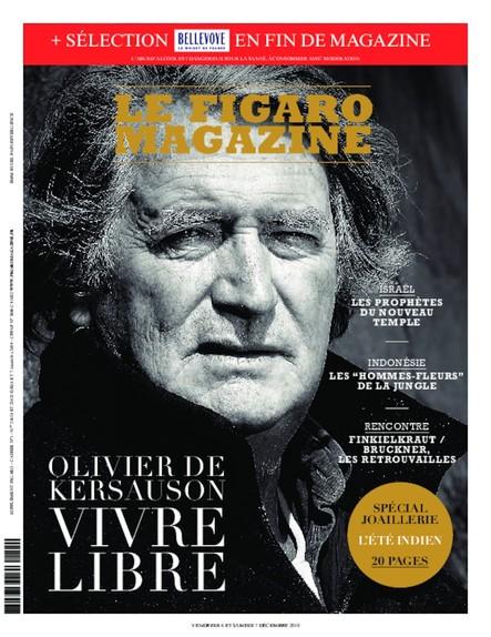 Figaro Magazine : Olivier de Kersauson, Vivre Libre