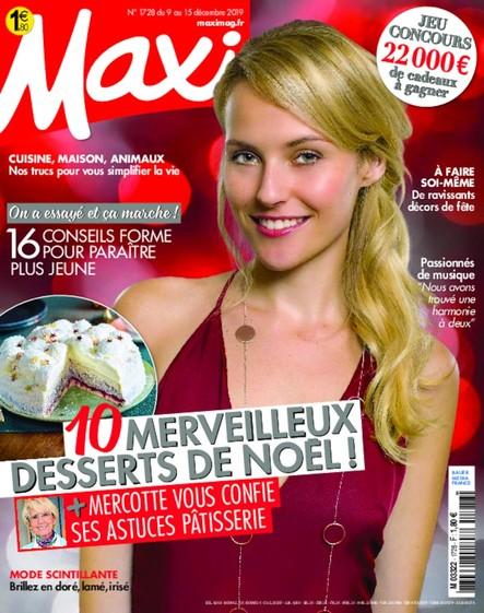 Maxi | Décembre 2019 | N°1728