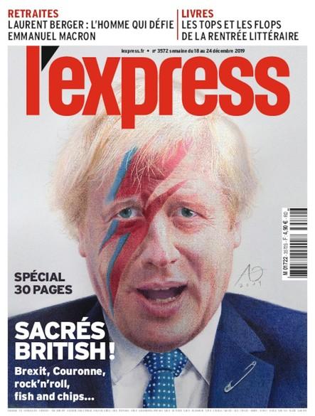 L'Express - Décembre 2019 - Sacrés British!