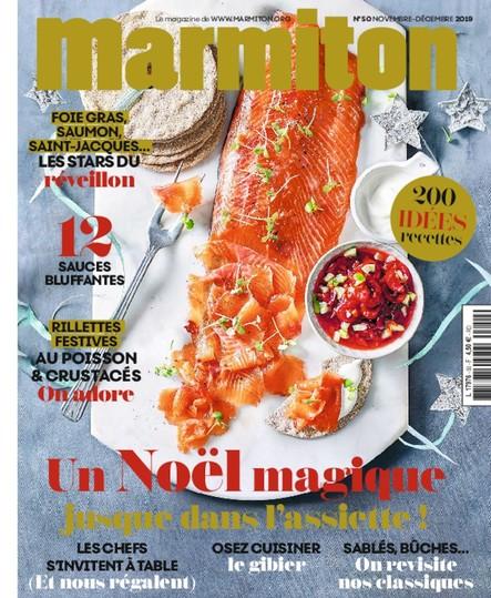 Marmiton - Novembre-Décembre 2019