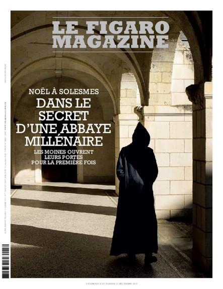 Figaro Magazine : Dans le secret d'une abbaye millénaire