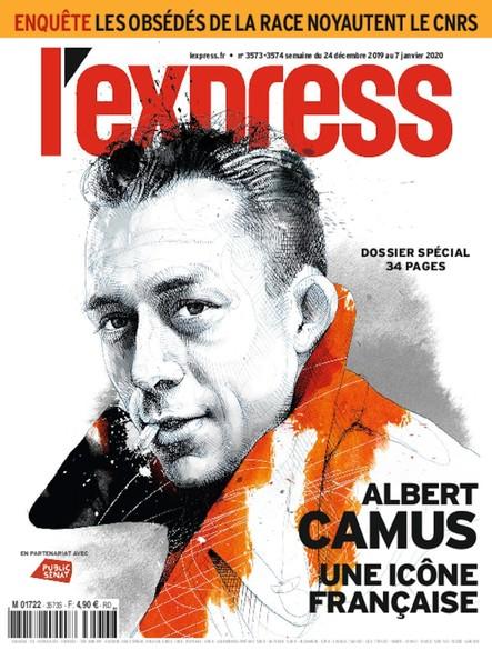 L'Express - Décembre 2019 - Albert Camus, une Icône Française