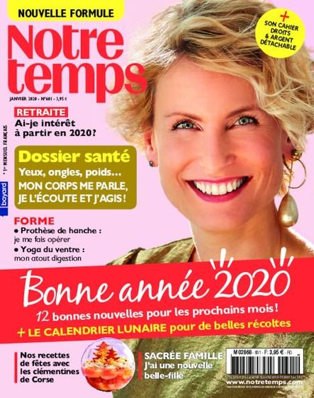 Notre Temps - Janvier 2020