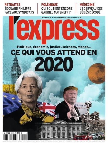 L'Express - Janvier 2020 - Ce qui nous attend en 2020